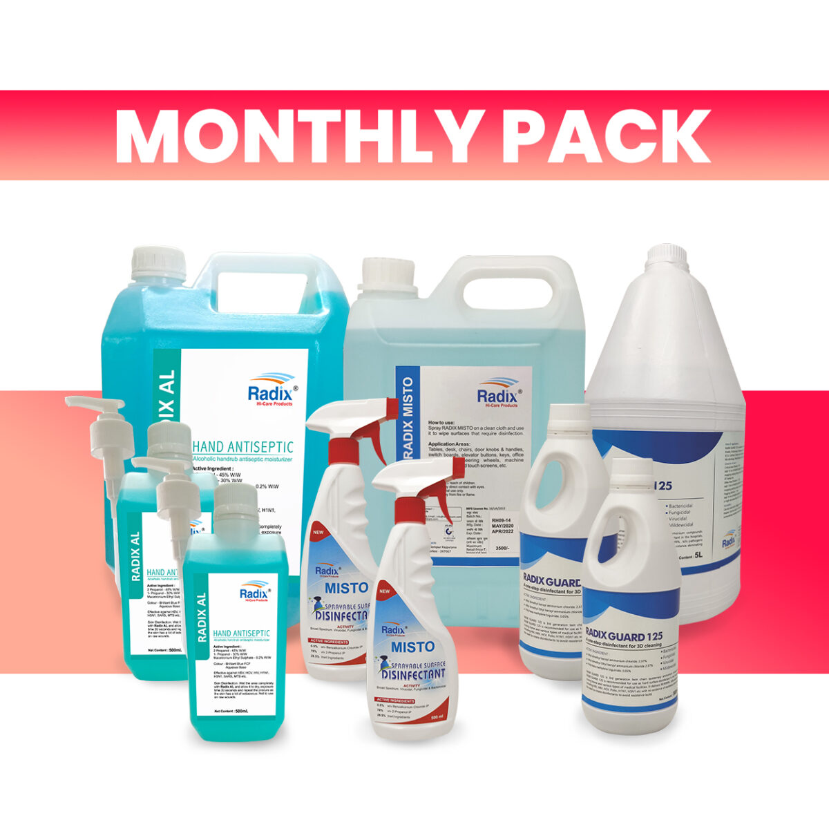 Monthly Pack