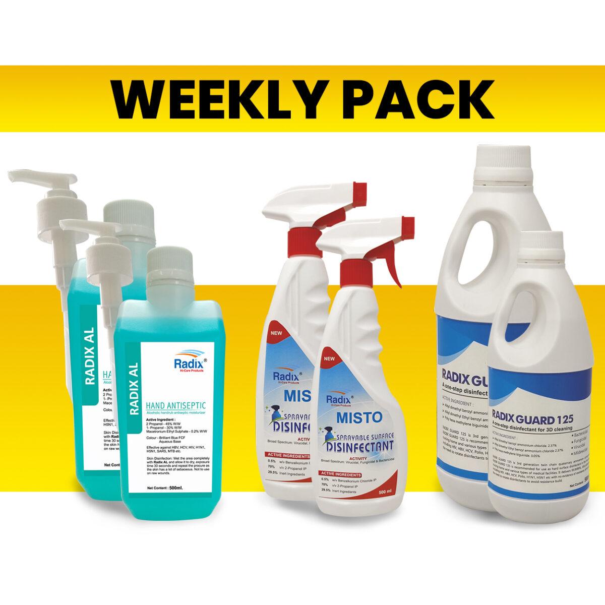 Weekly Pack